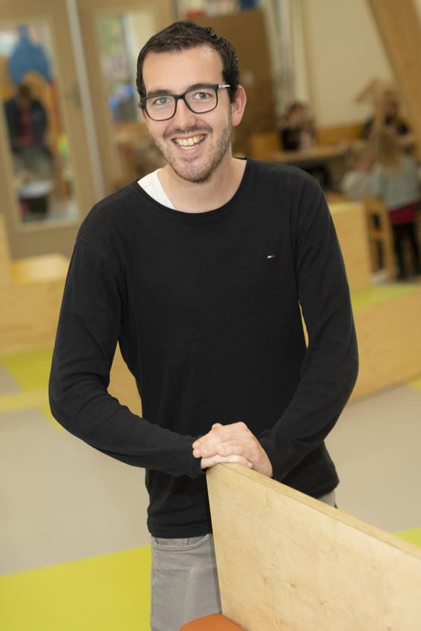 Jordan Timmermans - onderwijsassistent bovenbouw